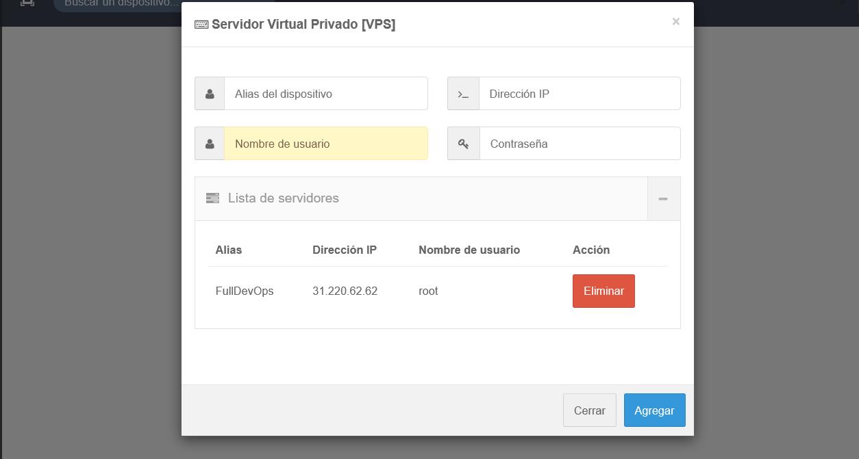GNet - Monitorización de VPS